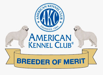 AKC Dog Breeder of Merit Award Emblem